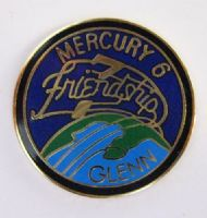 Mercury 6 Lapel Pin